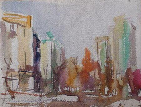 Выставка живописи и графики Ауталипова Аргына (21 сентября - 10 октября)