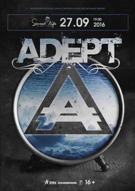 Концерт группы Adept