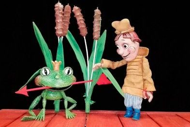 Царевна-лягушка. Моцарт в 3D. Московский дом музыки
