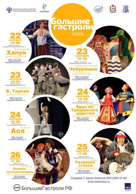 Гастроли Молодежного драматического театра Тольятти