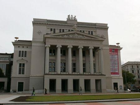 Даука. Латвийская Национальная опера. Афиша