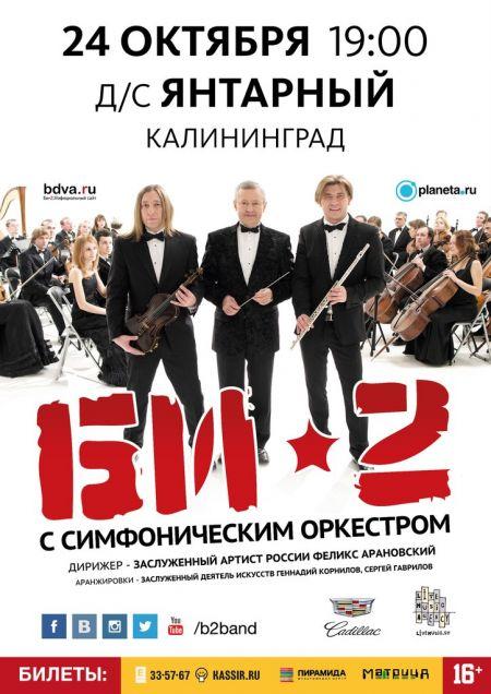 Концерт группы Би-2 в г. Калининград. 2015