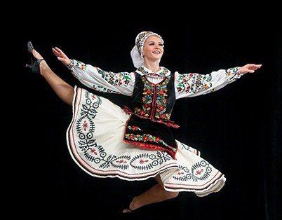 Концерт ансамбля танца им. Павла Вирского в г. Александрия. 2015
