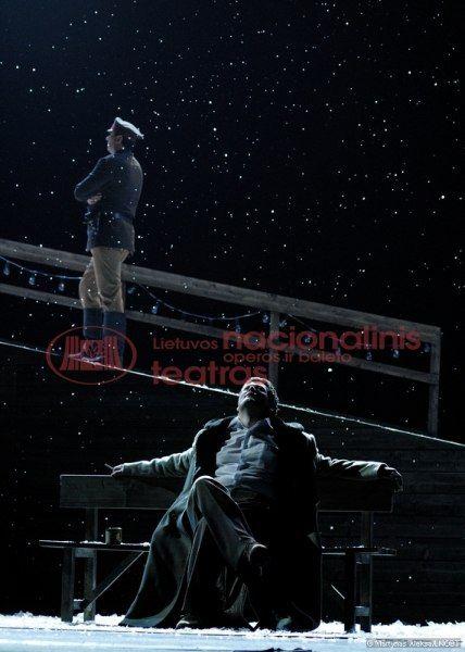 Евгений Онегин. опера литвы,афиша
