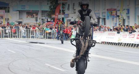 Мотоциклисты проведут показательные выступления в рамках акции по безопасному вождению