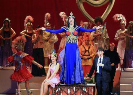 Спектакль Viva la mamma – скандальная дама. Хабаровский краевой музыкальный театр
