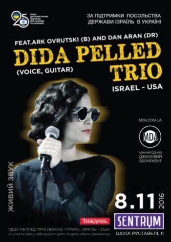 Концерт Dida Pelled Trio