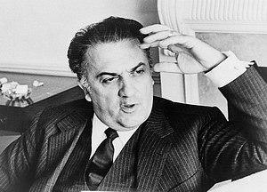 Федеріко Фелліні. 92 роки.