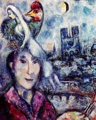 Марк Шагал. Автопортрет