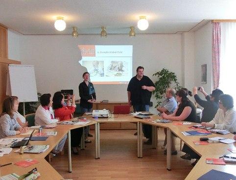 О проведении в австрийском городе Раттен семинара   по вопросам естественного билингвизма и межкультурной коммуникации