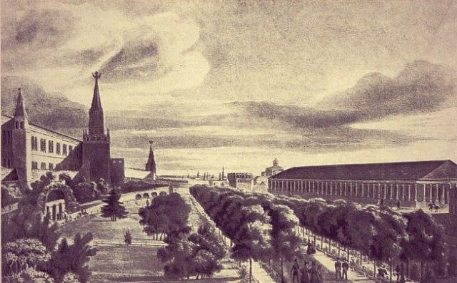 Восстановление и реконструкция Москвы первой четверти XIX в