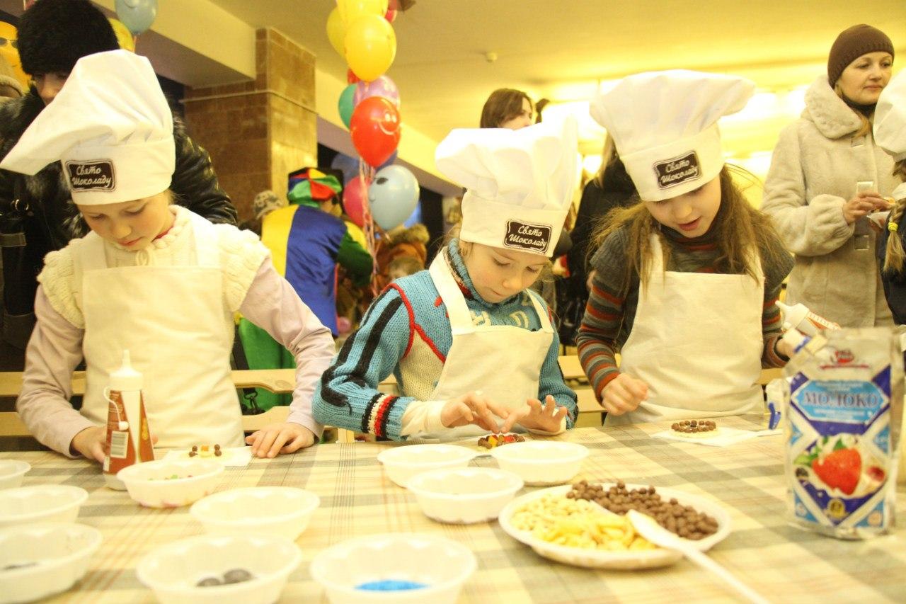 На Празднике Шоколада во Львове для детей откроют «Детскую страну»