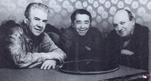 Роман Карцев и Виктор Ильченко.