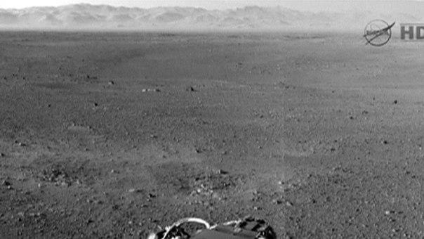 Марс похож на Землю