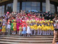 День защиты детей в Караганде.