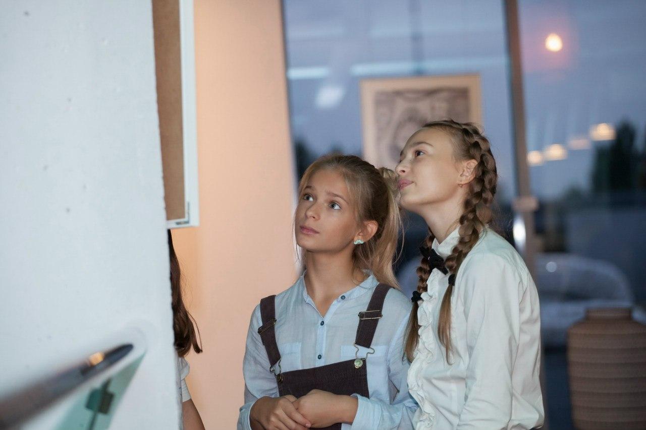 «Світ очима дитини» Дитяча виставка. Живопис .