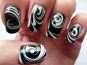 абстракция на ногтях рисунки фото