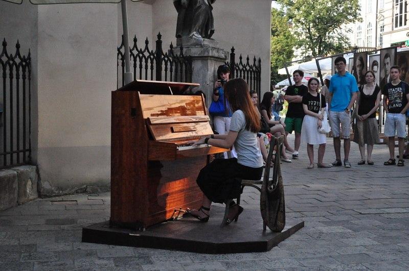 Всемирный День музыки во Львове.