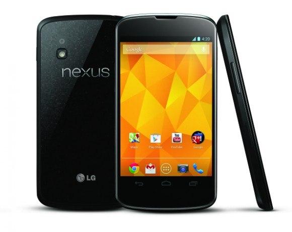 Компанія Google представила смартфон LG Nexus 4