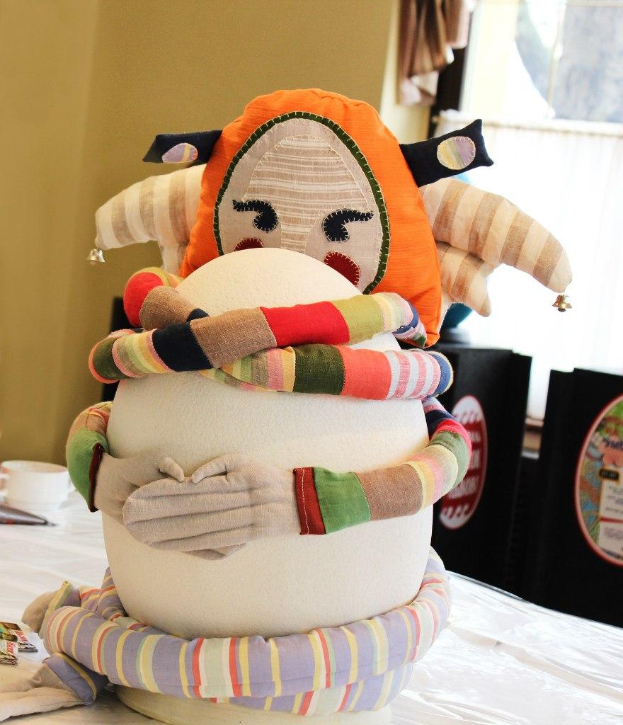 Львівська півметрова писанка-оберіг візьме участь у Міжнародному фестивалі театрів ляльок