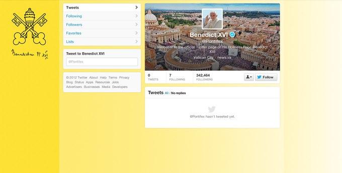 Первое электронное послание Папы Бенедикта 16-го