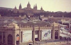 Презентация мобильных технологий для быта на выставке в Барселоне