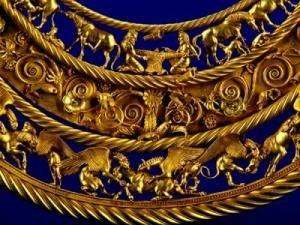В Украине впервые презентуют уникальную коллекцию скифского золота.