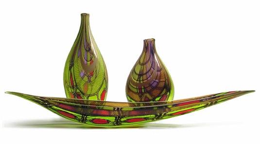 Открытие выставки «Художественный Петербург: стекло, эмаль, керамика» в НХМ РБ