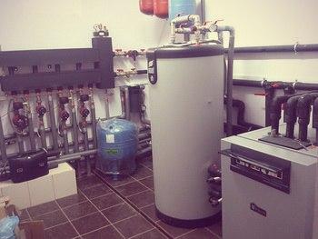 Тепловой насос - геотермальная система отопления частного дома