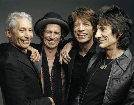 Новый концерт The Rolling Stones.