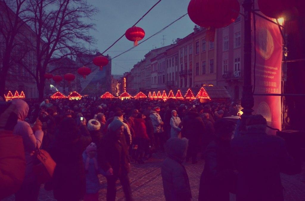 Международный фестиваль Китайский новый год в Украине