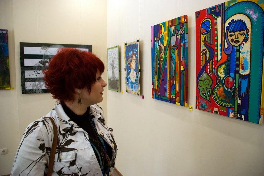 Виставка-конкурс «Я - це всесвіт»  у рамках всеукраїнської акції Art Now Session