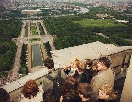 ТОП-5 популярных смотровых площадок Москвы