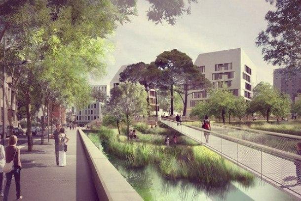 Будущее Парижа - цифровые кварталы