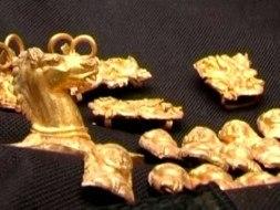 удивительные золотые артефакты