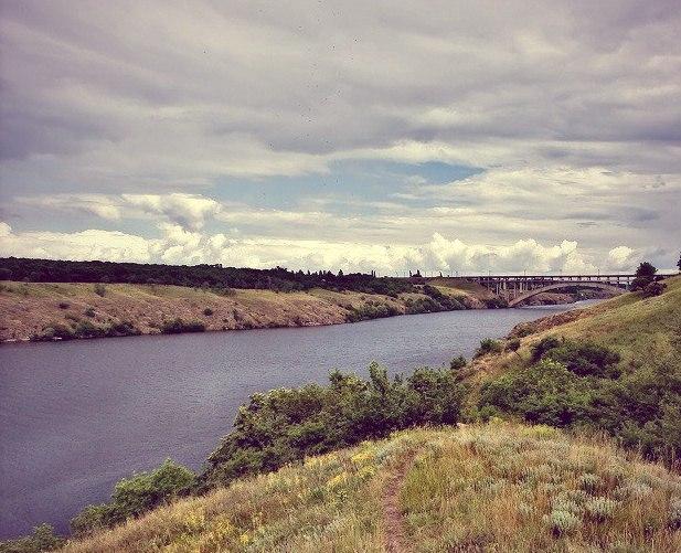 Река Днепр скоро станет морским лиманом