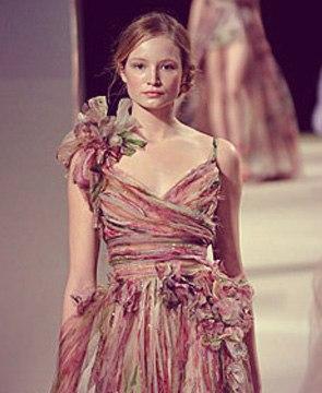 Об одном из последних показов одежды дизайнера Стеллы Маккартни