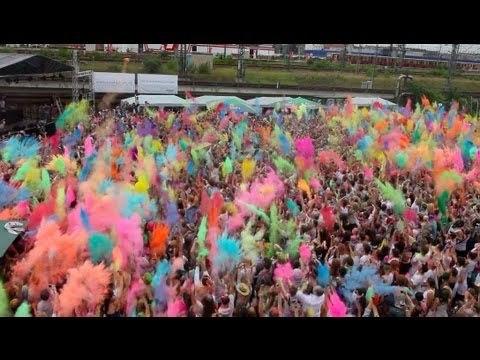 фестиваль кольорів,берлін