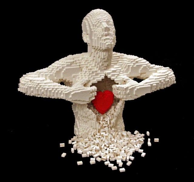 Невероятные скульптуры из Лего