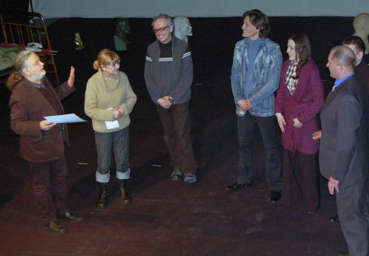 Львівський академічний театр «Воскресіння» відсвяткував Міжнародний день театру.