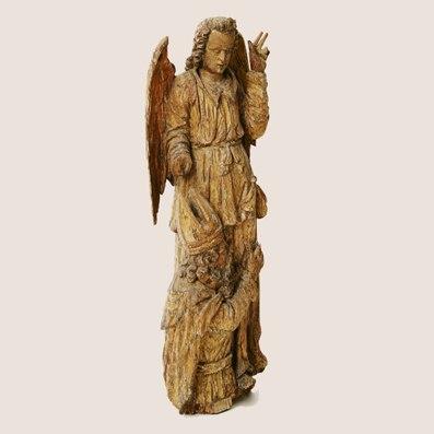 Алтарная скульптура и художественные ткани XVII–XIX вв. из собрания НХМ РБ