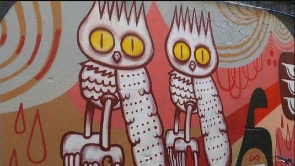 История берлинского стрит-арта