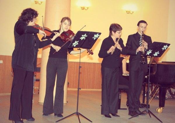 Концерт классической музыки преподавателей эстетики в Харькове