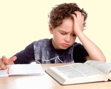 Погане читання у дитини пов