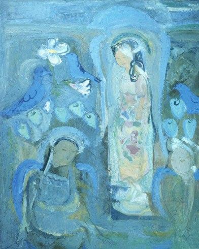 Полотно узбекского художника «Тысяча ангелов и одна картина» - заявление на включение в Книгу рекордов Гиннесса
