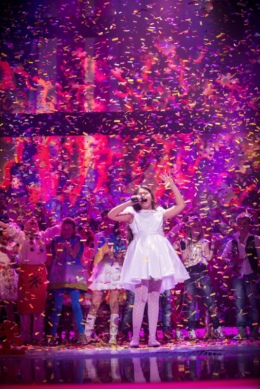 Гайя Гаучи победила на Детском Евровидении-2013