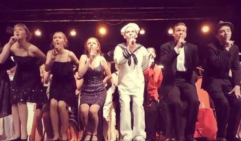 Ученики 96 гимназии Железногорска выступили в международном мюзикле