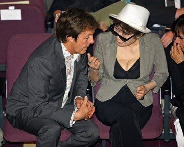 вдова Джона Леннона Йоко Оно не несе провини за розпад гурту The Beatles
