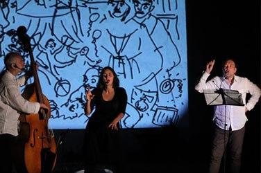 Літературно-музичний перформанс АЛЬБЕРТ АБО НАЙВИЩА ФОРМА СТРАТИ подорожуватиме Україною в лютому 2014