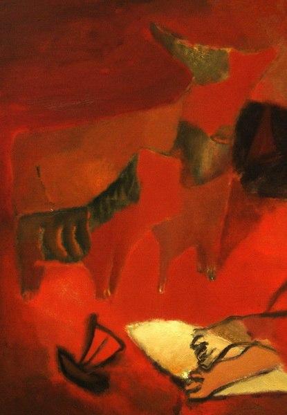 Живописное преобразование реальности: картина «Сон» Леонида Хоботова